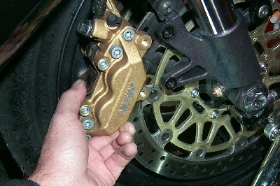 Front Caliper Removal